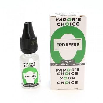 Vapors Choice Liquid - Erdbeere 10 ml