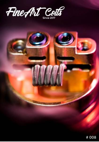 Fineart Coils - 3-Core Alien #008