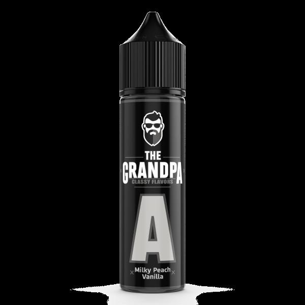 The Grandpa Vape - Milky Peach Vanilla Longfill Aroma 20 ml