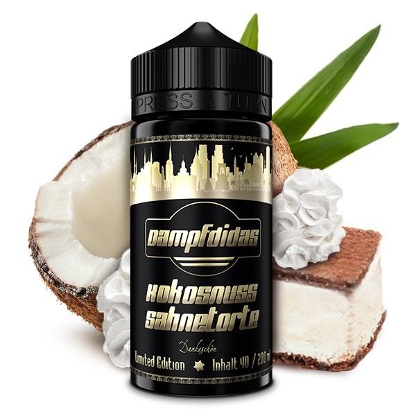 Dampfdidas - Kokosnuss Sahnetorte Longfill Aroma 40 ml Limited Edition