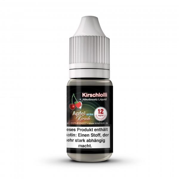 Kirschlolli Nicsalt Liquid - Apfel Kirsch ICE 10 ml