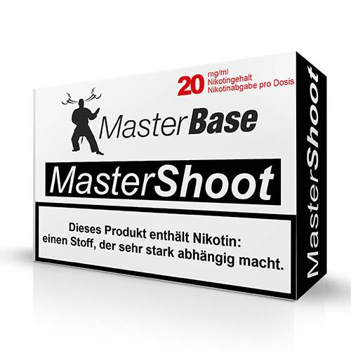Masterbase - MasterShoot 50/50 Nikotinshot - 5x10ml 20 mg