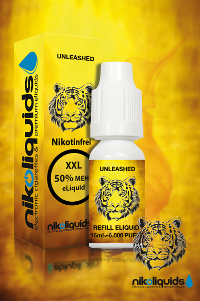 E-Liquid Nikoliquids Unleashed MHD 08/19