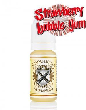 Stammi-Liquids - STRAWBERRY BUBBLE GUM Aroma 10 ml MHD 01.2020