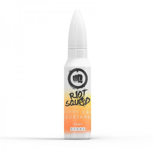 Riot Squad Shots Fifty Cal Custard Aroma 15 ml