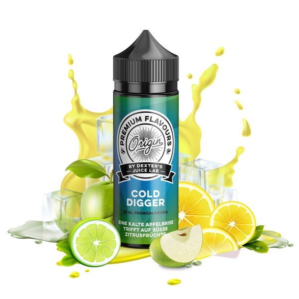 Dexter's Juice Lab Origin - Dexter's Cold Digger Longfill Aroma 30 ml