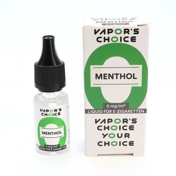 Vapors Choice Liquid - Menthol 10 ml