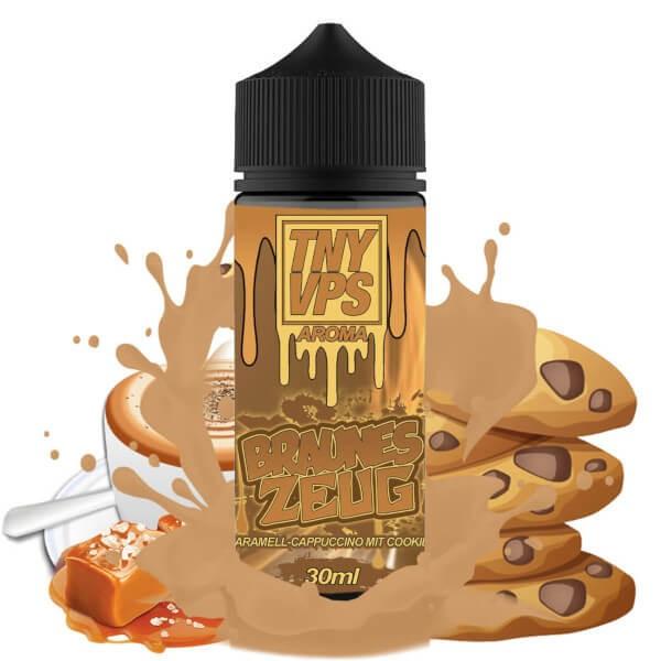 Tony Vapes - Braunes Zeug Longfill Aroma 30 ml