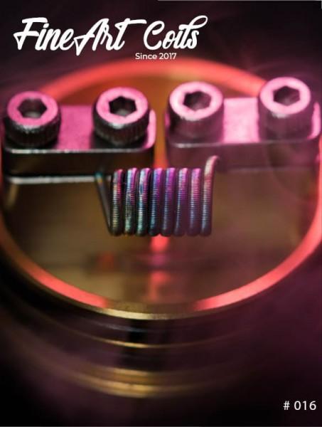 Fineart Coils - Fine Fused Clapton #016