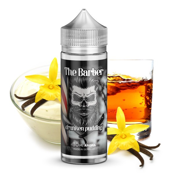 THE BARBER by Kapkas Flava - Drunken Pudding Longfill Aroma 30 ml