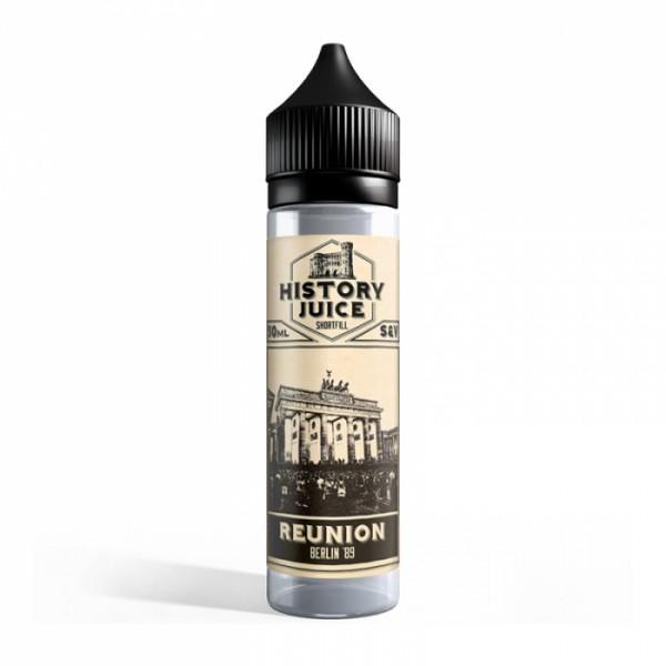 HISTORY JUICE - Reunion Shortfill Liquid 50ml