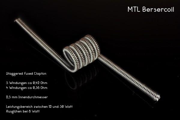 Franktastische Coils- MTL BERSERCOIL Ni80