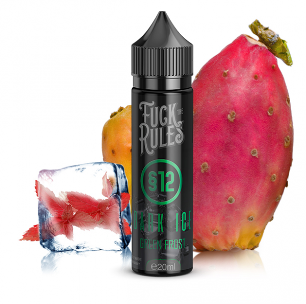 Fuck the Rules § 12 Dark Ice - Green Frost Longfill Aroma 20 ml