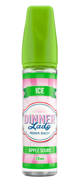 Dinner Lady - Apple Sours Ice Longfill Aroma 20 ml