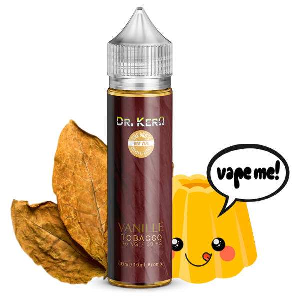 Dr. Kero X The Bro´s Vanille Tobacco Longfill Aroma 10 ml