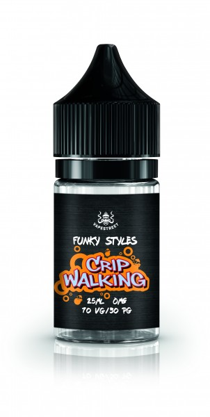 Vapestreet Funky Styles - Crip Walking Shortfill 25 ml