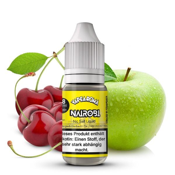 Vape-A-Roma Nikotinsalz Liquid - Nairobi 10ml 18mg/ml
