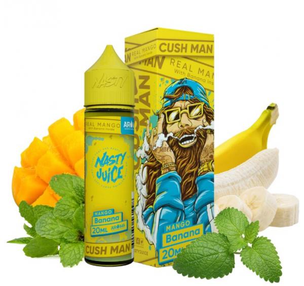 Nasty Juice - Cush Man Banana Longfill Aroma 20 ml