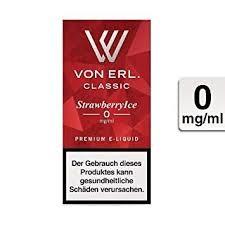 Von Erl STRAWBERRYICE Liquid MHD 6.2019 3 mg