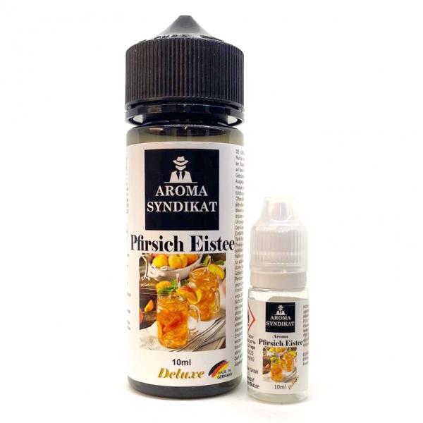 Aroma Syndikat - Pfirsich Eistee Longfill Aroma 10 ml