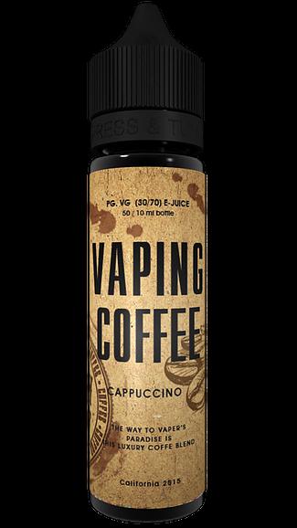 Vaping Coffee Liquid - Cappuccino 50 ml