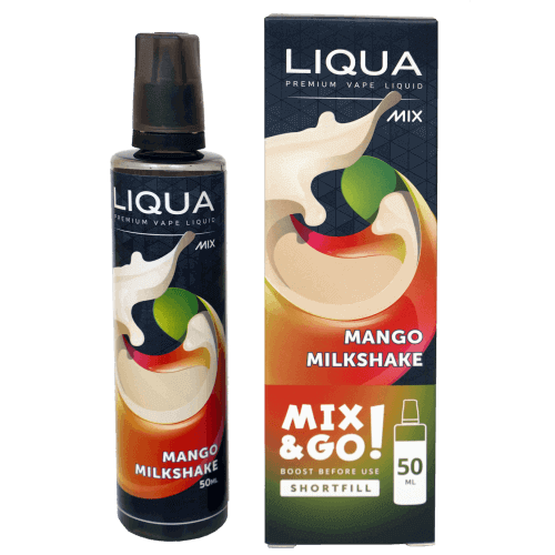 LIQUA™ Mix Mango Milkshake Liquid Shortfill 50 ml