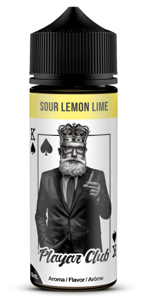 Playaz Club Aroma - Pik König - Sour Lemon Lime 10 ml