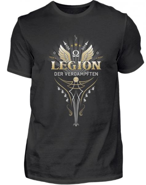 Vapetextil - LEGION DER VERDAMPFTEN Herren Basic T-Shirt