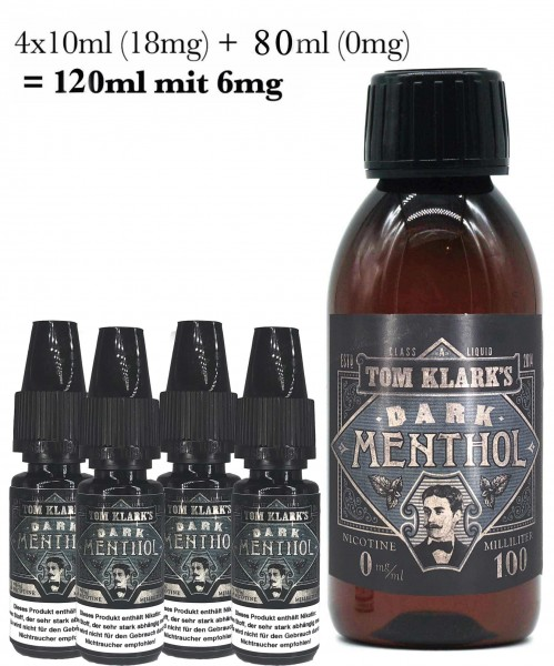 Tom Klark´s Dark Menthol Shot Bundle