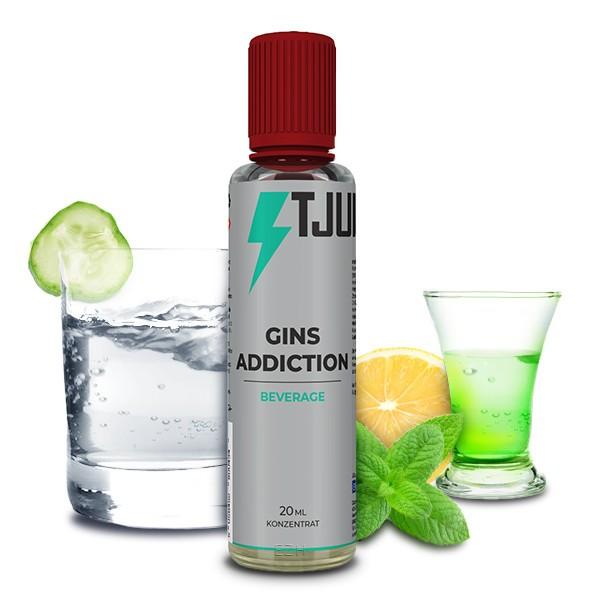 T-JUICE - Gins Addiction Longfill Aroma 20 ml
