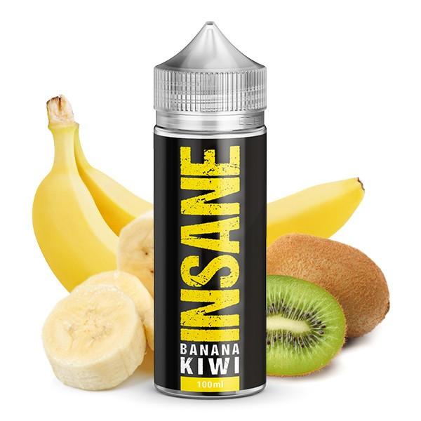 INSANE Liquid - Banana Kiwi 100 ml