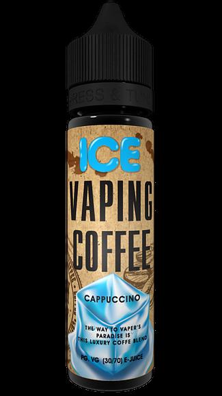 Vaping Coffee Liquid - Cappuccino Ice 50 ml