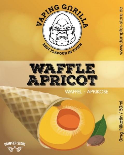 Vaping Gorilla - Waffle Apricot 50 ml