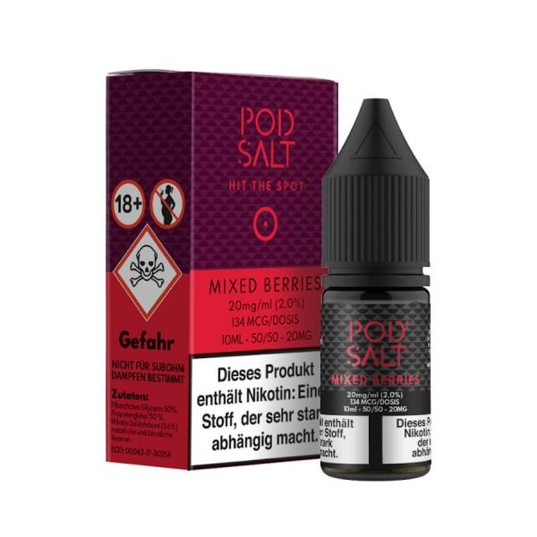 Pod Salt - Mixed Berries 10 ml