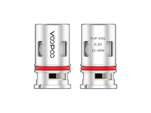 Voopoo Head - PNP-VM1 0,3 Ohm (5 Stück)