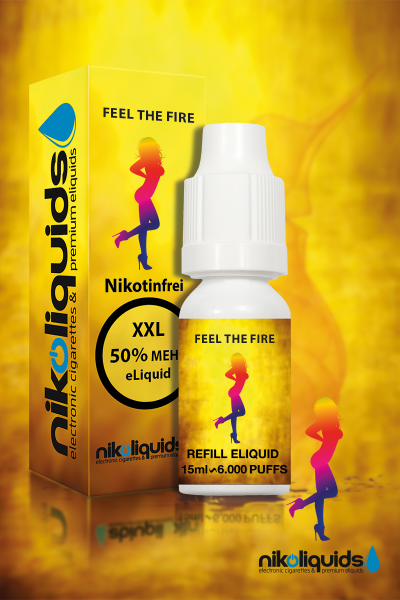 E-Liquid Nikoliquids Feel The Fire 07/19
