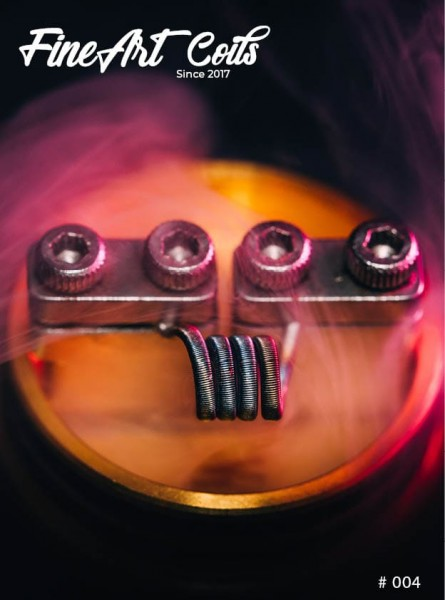 Fineart Coils - Fine Fused Clapton #004