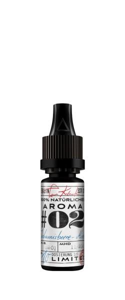 Tom Klark's 100% natürliche Aromen #02 Johannisbeere-Minze 10 ml