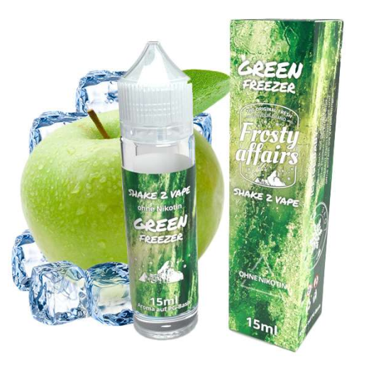 Frosty Affairs - Green Freezer Longill Aroma 15 ml