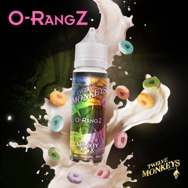 Twelve Monkeys - O - Rang Z Shortfill 50 ml MHD 4.2020
