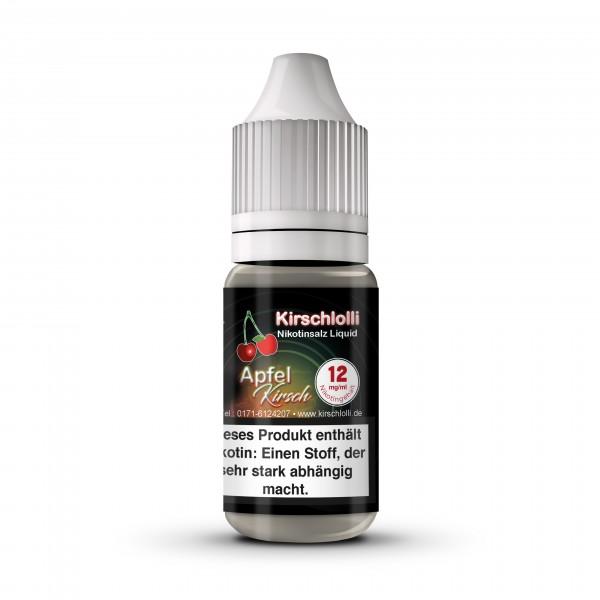 Kirschlolli Nicsalt Liquid - Apfel Kirsch 10 ml