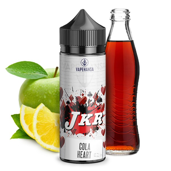 JKR Flavours by Vapehansa - Herz Cola Queen Longfill Aroma 10 ml