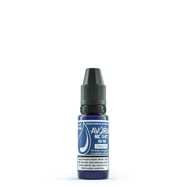 Avoria Nicotinshot 50 VG/ 50 PG 18 mg