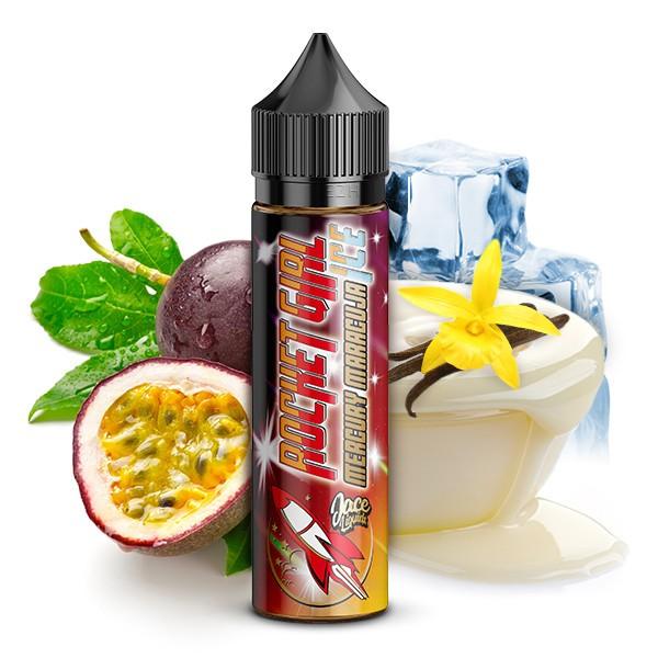 Rocket Girl by Jace Liquids - Mercury Maracuja on ICE Longfill Aroma 15 ml