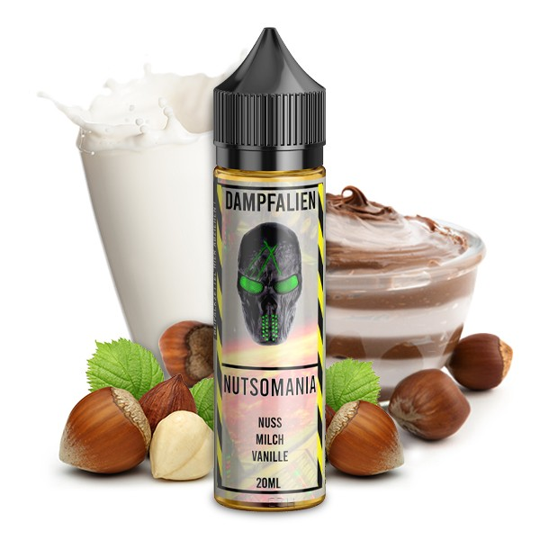 Dampfalien - Nutsomania Longfill Aroma 20 ml