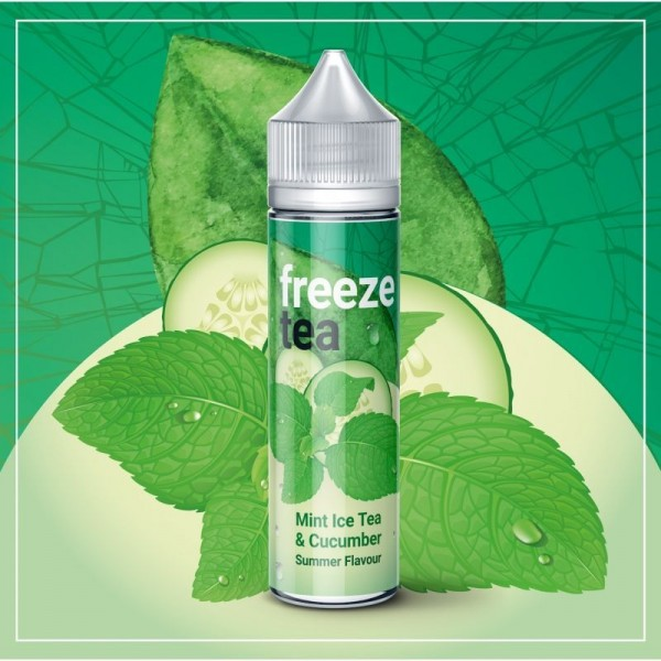 FREEZE TEA - Minze Eistee & Gurke 50 ml