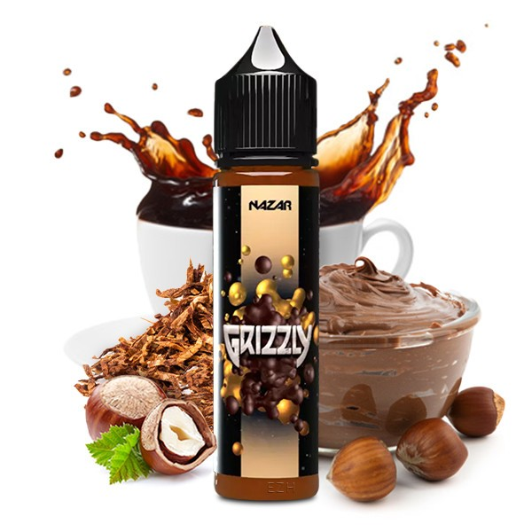 NAZAR - Longfill Aroma Grizzly 20 ml
