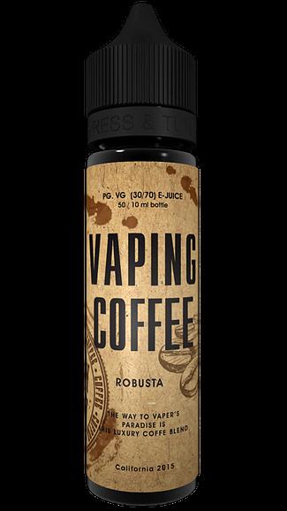 Vaping Coffee Liquid - Robusta 50 ml