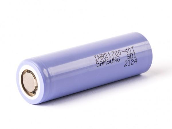 Samsung 21700 Li-Ionen Akku 3,6V - 3,7V 4000mAh 35A/70A (40T)