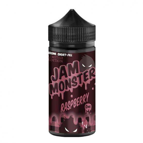 Monster Vape Lab Liquid - Jam Monster Raspberry 100ml